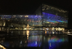Harpa, the venue of the conference banquet.