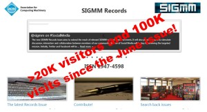 Impact of the New @sigmm Records
