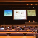 Opening Plenary of the 108th MPEG meeting in Valencia, Spain.