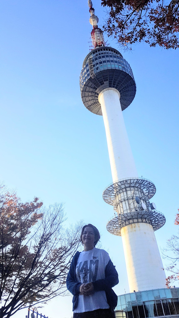 Jogging in the morning to N Seoul Tower for sunrise, ACM-MM 2018.