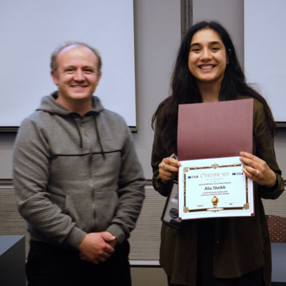 Fig. 12: Receiving the SIGMM Social Media Reporter Award for MMSys 2019!