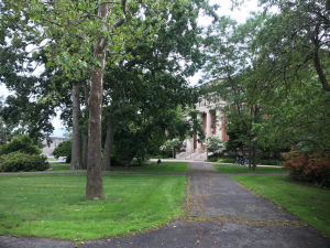Fig.1: A picturesque scene from the wonderful University of Massachussetts Amherst campus